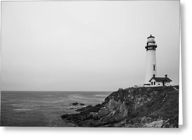 Pigeon Point Lighthouse Greeting Card by Ralf Kaiser