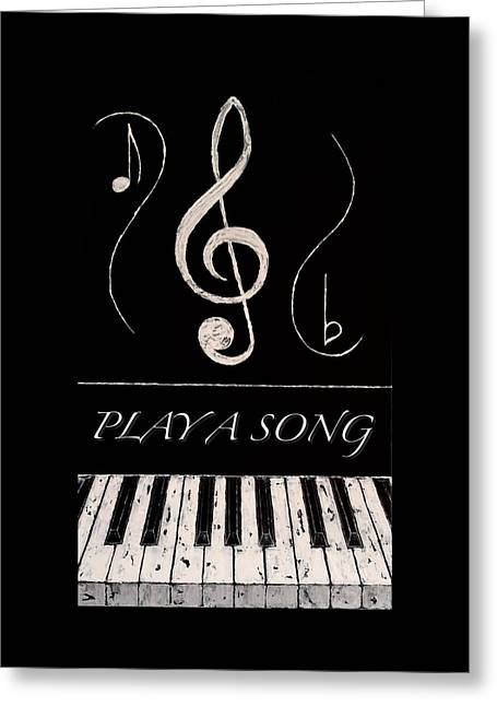 Play A Song Greeting Card