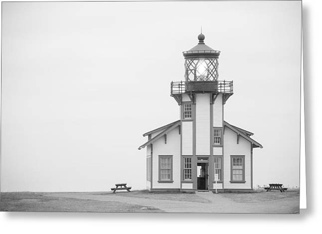 Point Cabrillo Lighthouse Greeting Card by Ralf Kaiser