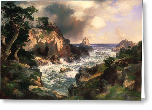 Point Lobos - Monterey California Greeting Card by Mountain Dreams