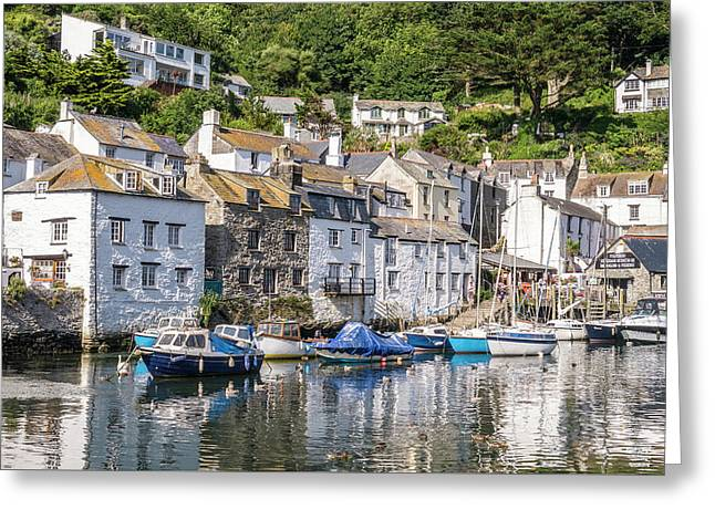Polperro, Cornwall Greeting Card