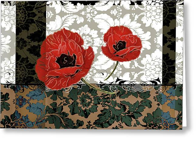 Poppies 5 Greeting Card