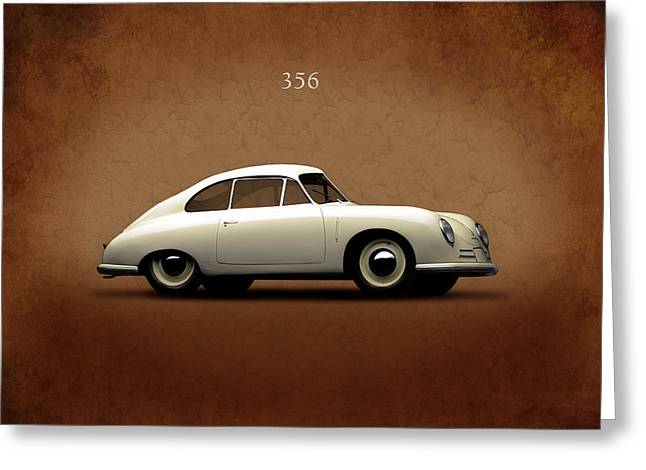 Porsche 356 Greeting Card