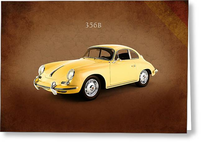 Porsche 356b 1962 Greeting Card by Mark Rogan