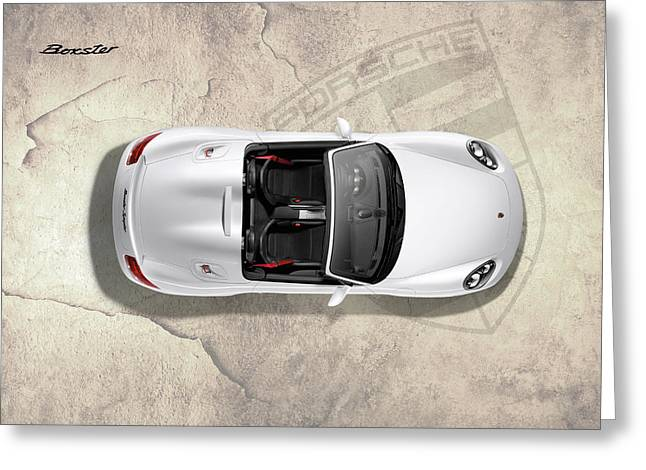 Porsche Boxster Greeting Card by Mark Rogan