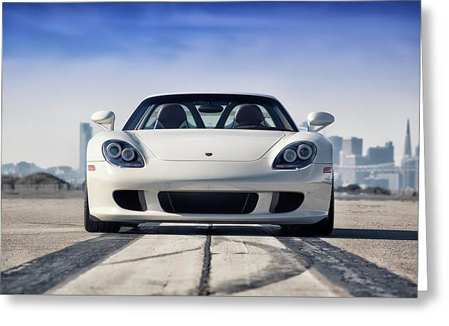 #porsche #carreragt Greeting Card