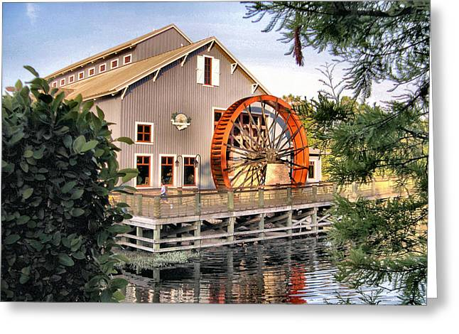 Port Orleans Riverside Iv Greeting Card