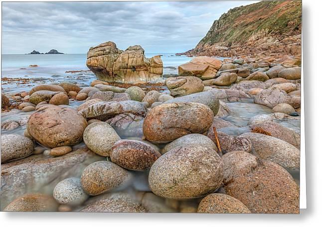 Porth Nanven - Cornwall Greeting Card