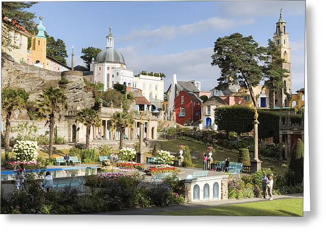Portmeirion - Wales Greeting Card
