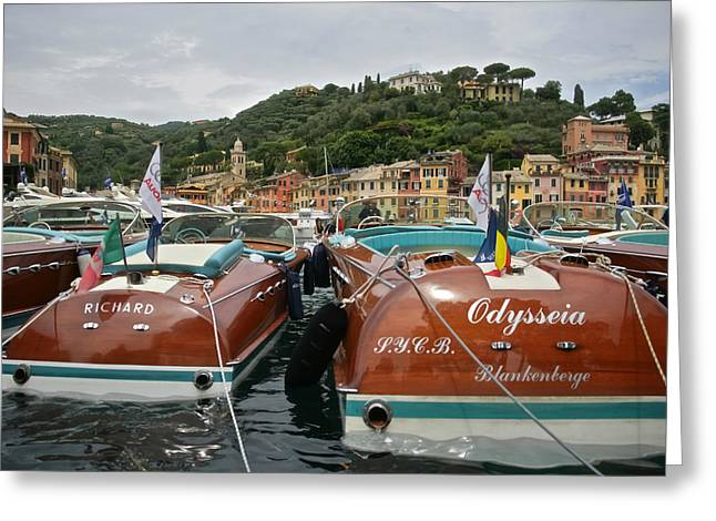 Portofino Rivas Greeting Card by Steven Lapkin