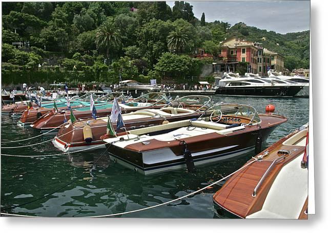 Portofino Greeting Card by Steven Lapkin