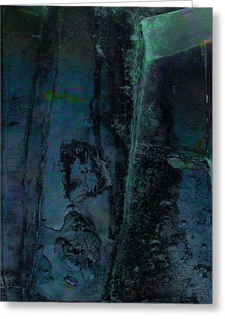 Poseidon Greeting Card by Ken Walker