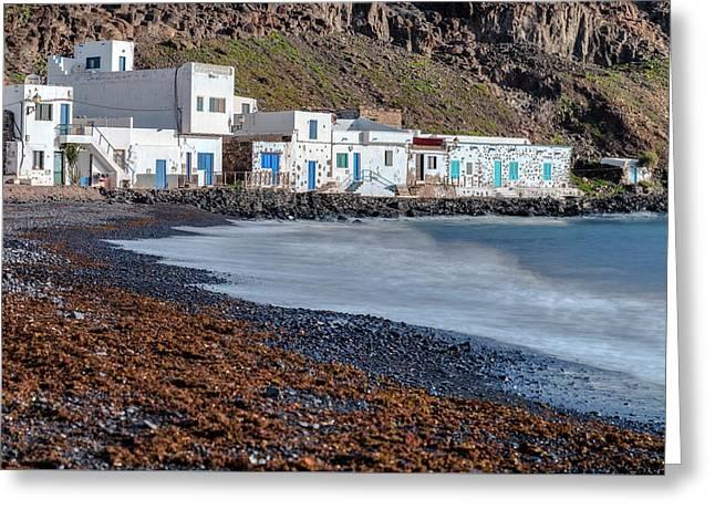 Pozo Negro - Fuerteventura Greeting Card by Joana Kruse