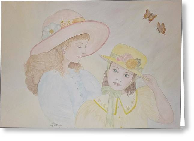 Prairie Sun Hats Greeting Card