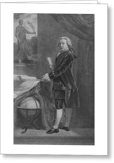 President John Adams - Two Greeting Card