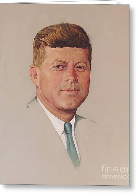 President John F. Kennedy Greeting Card