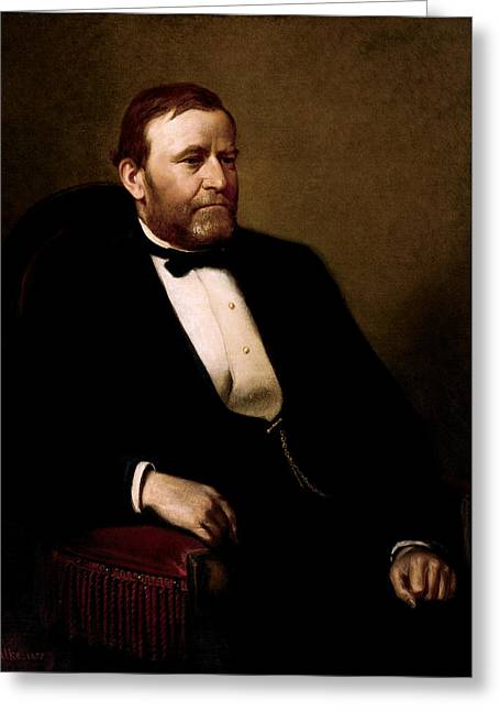President Ulysses Grant Greeting Card by War Is Hell Store