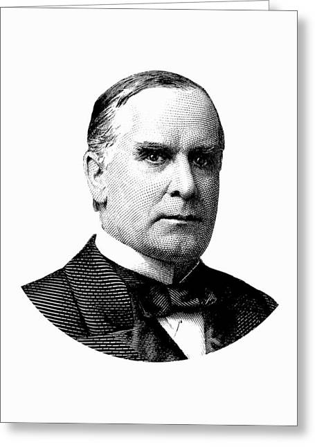 President William Mckinley Graphic Greeting Card