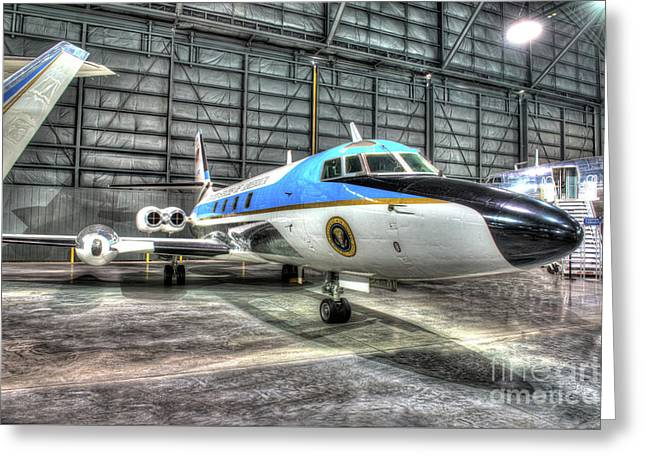 Presidential Aircraft - Lockheed, Vc-140b Jetstar  Greeting Card