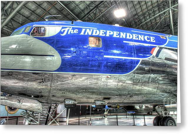 Presidential Aircraft - The Independence, Douglas, Vc-118  Greeting Card