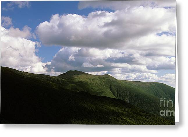 Presidential Range - White Mountains New Hampshire Usa Greeting Card