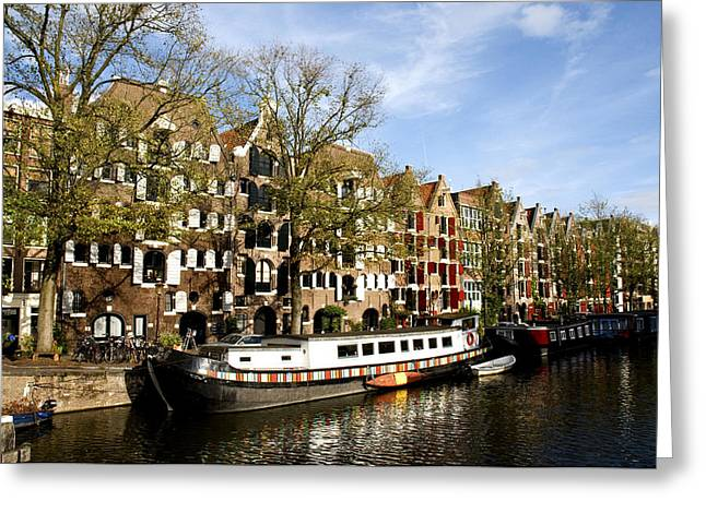 Prinsengracht Greeting Card