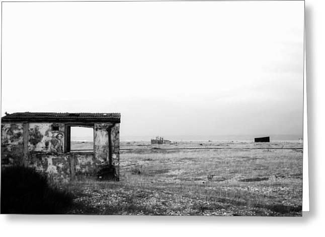Projekt Desolate Loveshack  Greeting Card by Stuart Ellesmere