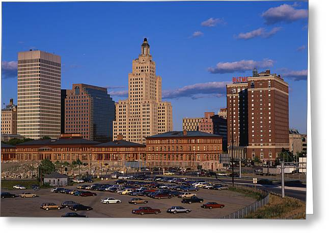 Providence Ri Greeting Card
