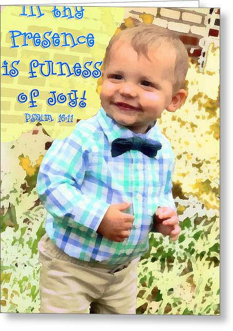 Psalm 16 11 Greeting Card