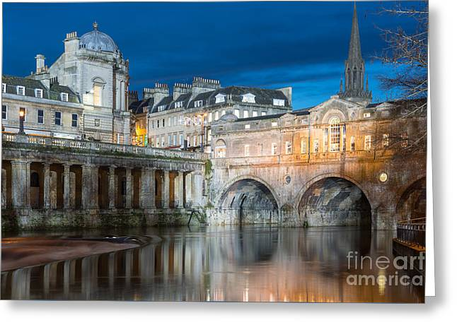 Pulteney Bridge, Bath Greeting Card
