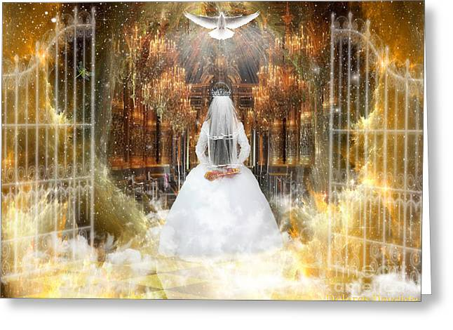 Pure Bride Greeting Card