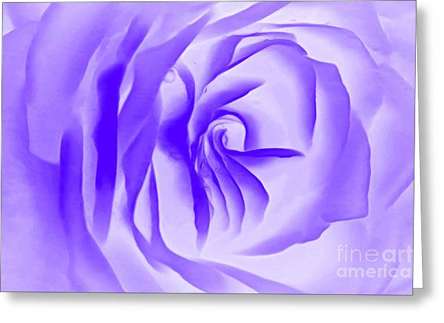 Purple Promises Greeting Card