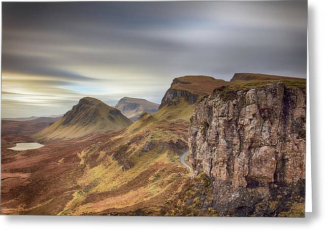 Greeting Card featuring the photograph Quiraing - Isle Of Skye by Grant Glendinning