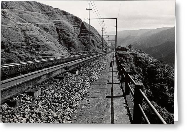 Railroad Greeting Card by Amarildo Correa