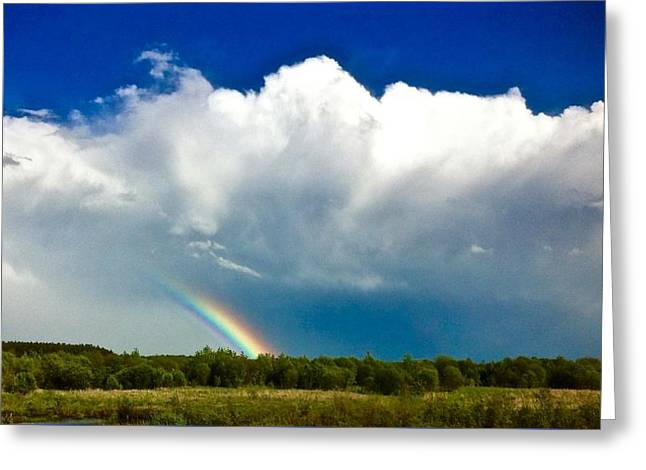 Rainbow  Greeting Card by Brian Sereda
