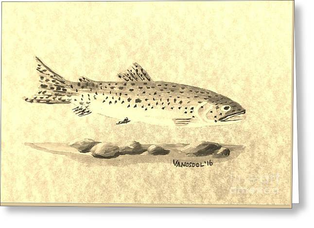 Rainbow Trout Art Greeting Cards (Page #5 of 6) | Fine Art America