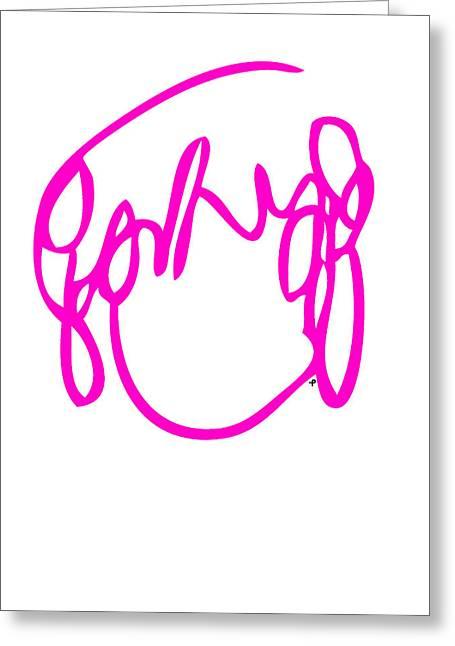 Ramona Flowers Red - Scott Pilgrim Vs The World Greeting Card