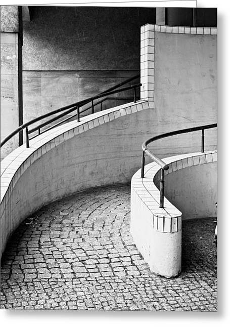 Ramp Entrance Greeting Card by Tom Gowanlock