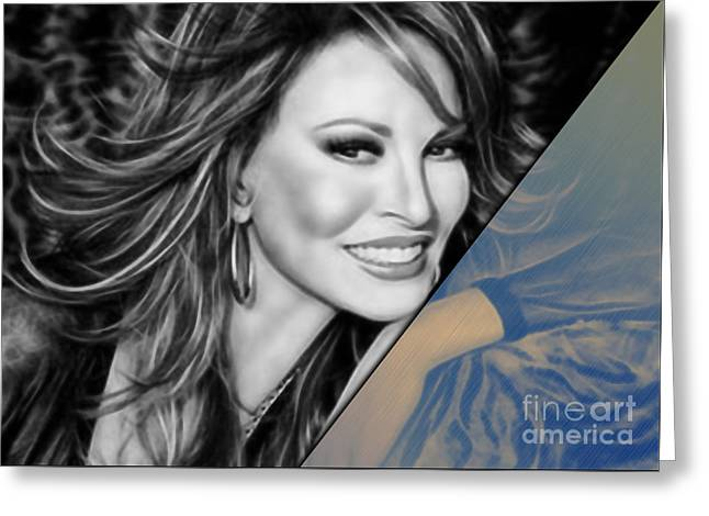 Raquel Welch Collection Greeting Card