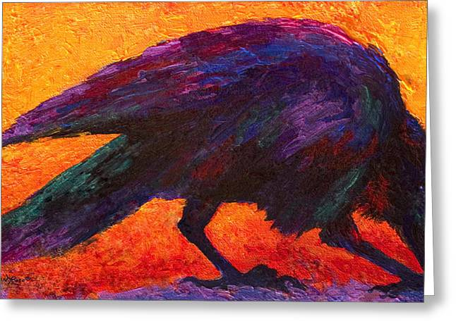 Raven Greeting Card