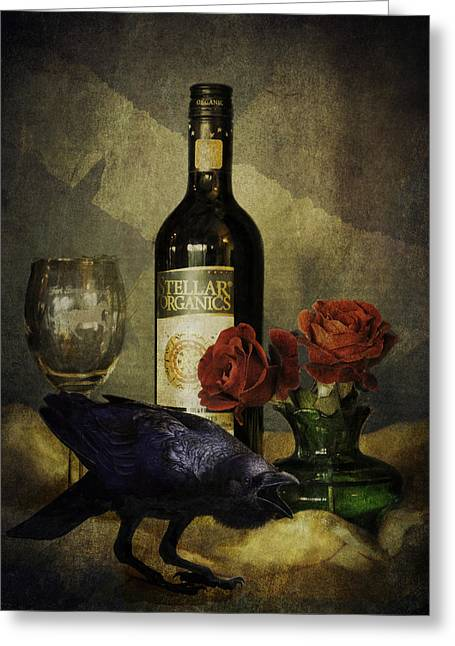 The Ravens Table Greeting Card