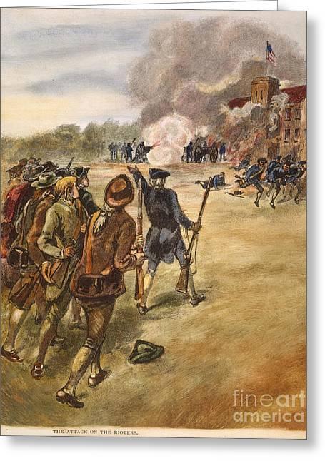 Rebels: Arsenal, 1787 Greeting Card by Granger
