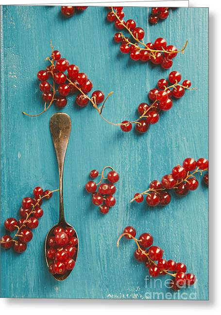 Red Currant Greeting Card