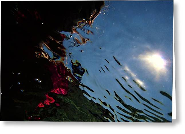 Reflection 8 Greeting Card