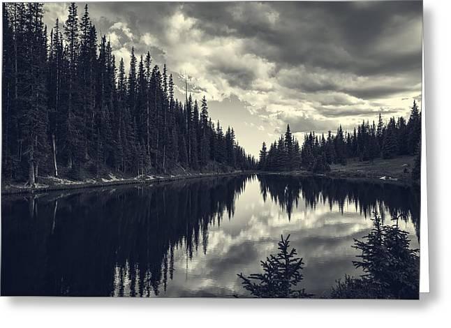Reflections On Lake Irene Greeting Card