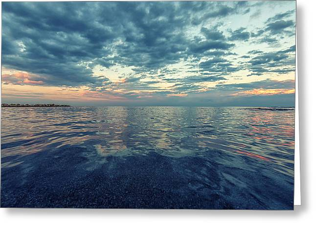 Reflections Greeting Card by Stelios Kleanthous