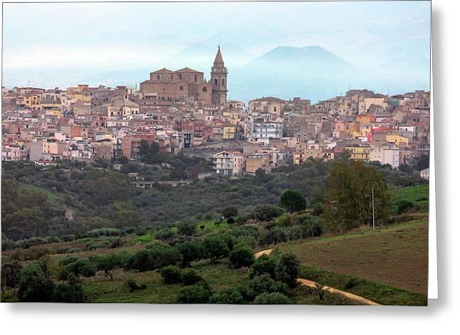 Regalbuto - Sicily Greeting Card by Joana Kruse