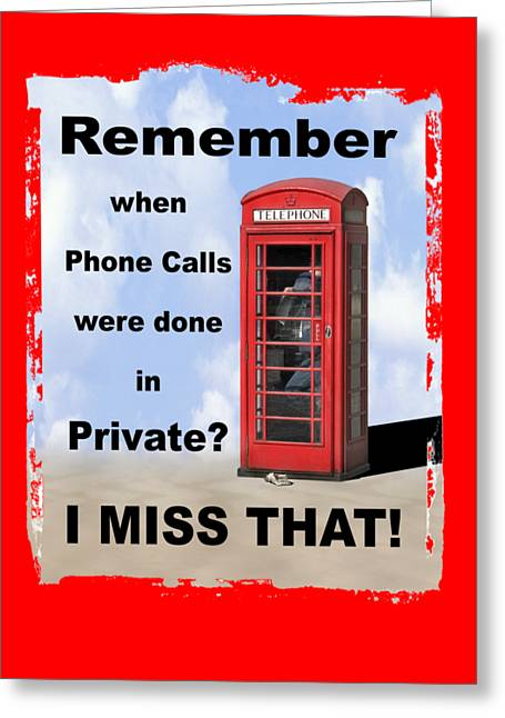 Remember When . . . Greeting Card