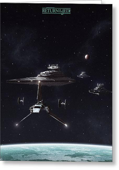 Return Of The Jedi Greeting Card