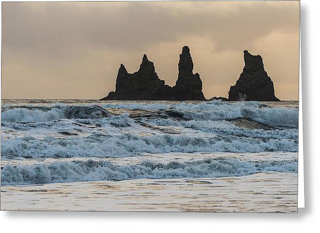 Reynisdrangar Greeting Card